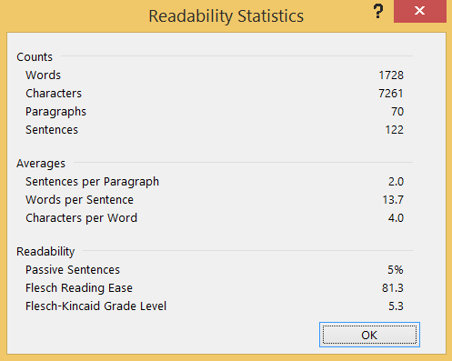 readability-stats-less-is-more