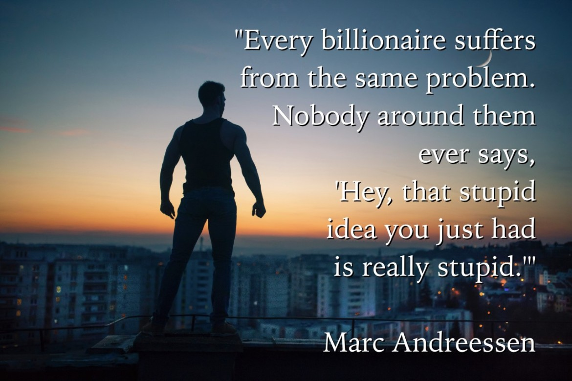want to be a billionaire